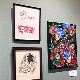 The Art of Salus: Community Expressions Unveiled as Latest Exhibit