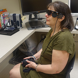 First Retinal Implant Patient