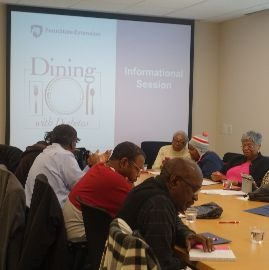 Dining with Diabetes Series Wraps Up