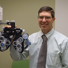 Dr. Stanley Hatch Named Chief of Pediatric/Binocular Vision Service at TEI