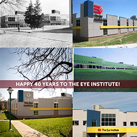 The Eye Institute Marks its 40th Anniversary