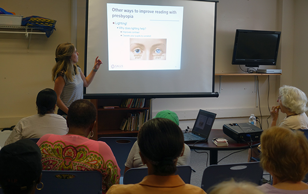 Low Vision Lunch and Learn at Abington YMCA