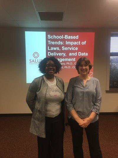 Carrie Knight - Salus University - Speech-Language Pathology