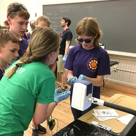 First Jr. Summer Academy for Visually Impaired