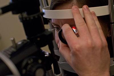 Eye Exam at The Eye Institute