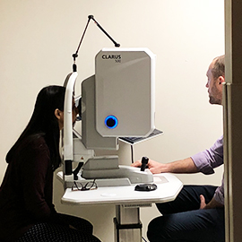 The Eye Institute Newest Imaging Technology