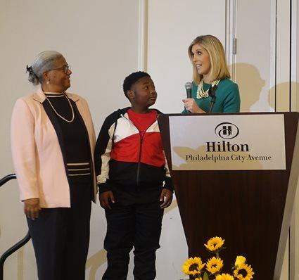 Eric Melton, Nurse Margo and Rosemary Connors