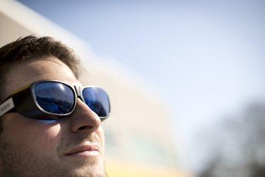 Wear sunglasses outdoors