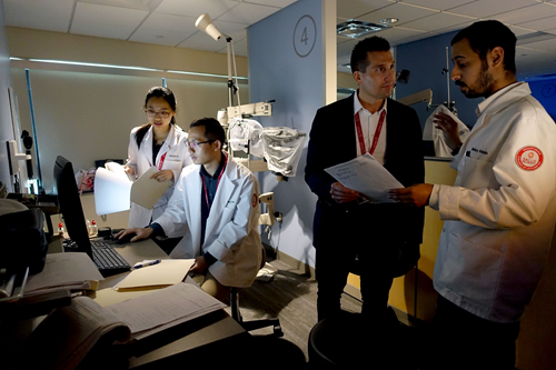 International Students Deepen Clinical Skills with Hands-On Training