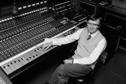 Rudy Van Gelder in 1988 at the home studio that he designed himself in Englewood Cliffs, N.J. Source: The New York Times