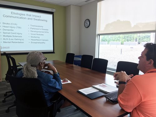 Speech, Language and Cognitive Issues for the Elderly Presented at Final Spring Community Class