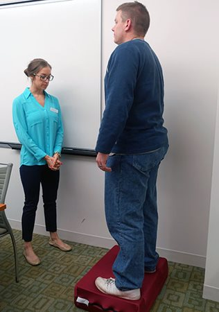 Balance Screening with Veterans