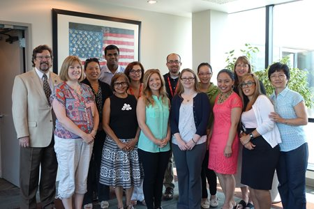 Our Vestibular and Balance Assessment 2015 Summer Workshop participants and visiting faculty.