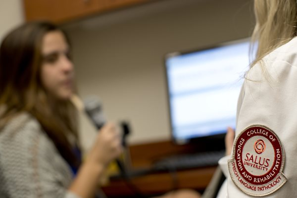 Salus University's Speech-Language Pathology Program