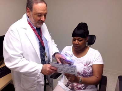 Low Vision Services at William Feinbloom Center
