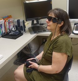 TEI Provides Rehab Services to First Retinal Implant Patient