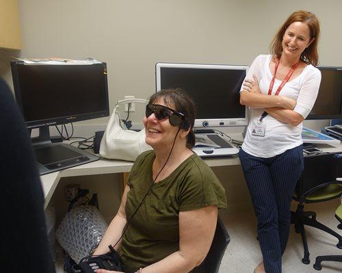 TEI Retinal Patient