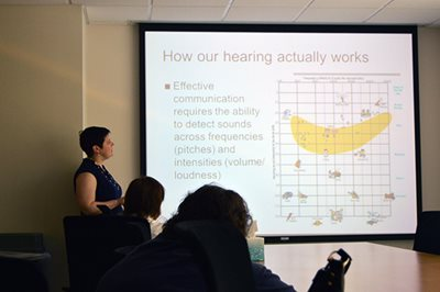 """Tips on """"Healthy Aging through Healthy Hearing"""" Presented at Second TEI Community Class"""