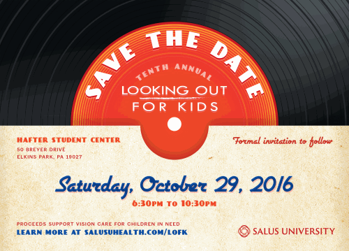 Looking Out for Kids Save the Date