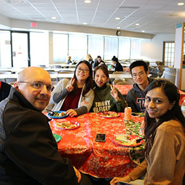 Salus Family Offers MSc International Students Some Holiday Cheer
