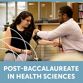 New Post-baccalaureate Program in Health Sciences