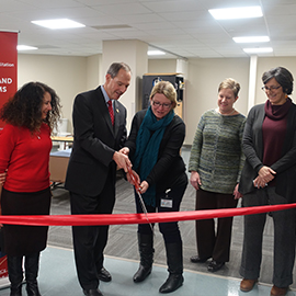 Expanded CER Lab Ribbon Cutting