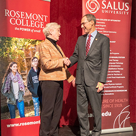 Salus Signs Articulation Agreements with Rosemont College