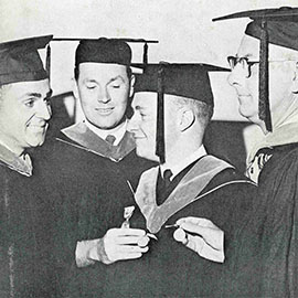 Throwback Thursday: 1965 Commencement