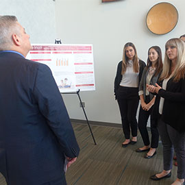 Speech-Language Pathology Students Present Capstone Posters
