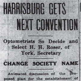 Throwback Thursday: A Plea is Made at the 1918 POA Convention