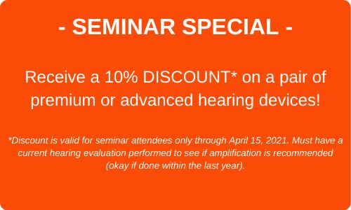 Oticon seminar special