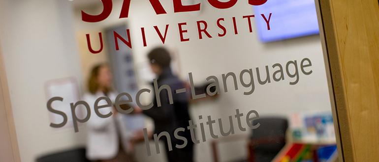 Salus University - The Speech-Language Institute (SLI)
