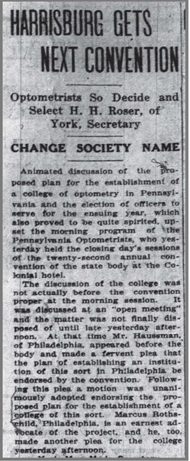 1919-Newspaper-Advocating-for-College-of-Optometry-in-Philly.jpg
