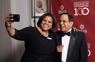 Jacquie Patterson and Dr. Satya Verma