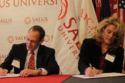 Salus and Arcadia University MOU