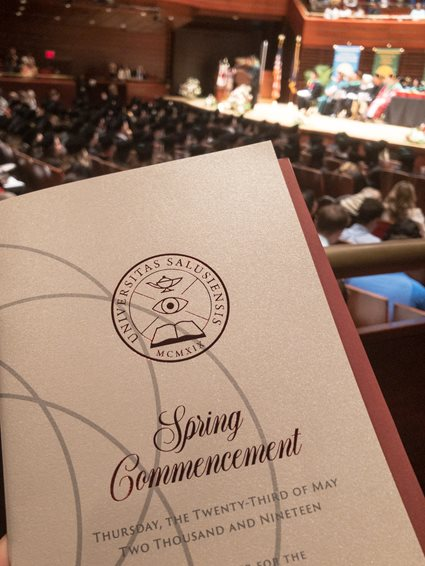 Spring Commencement Book