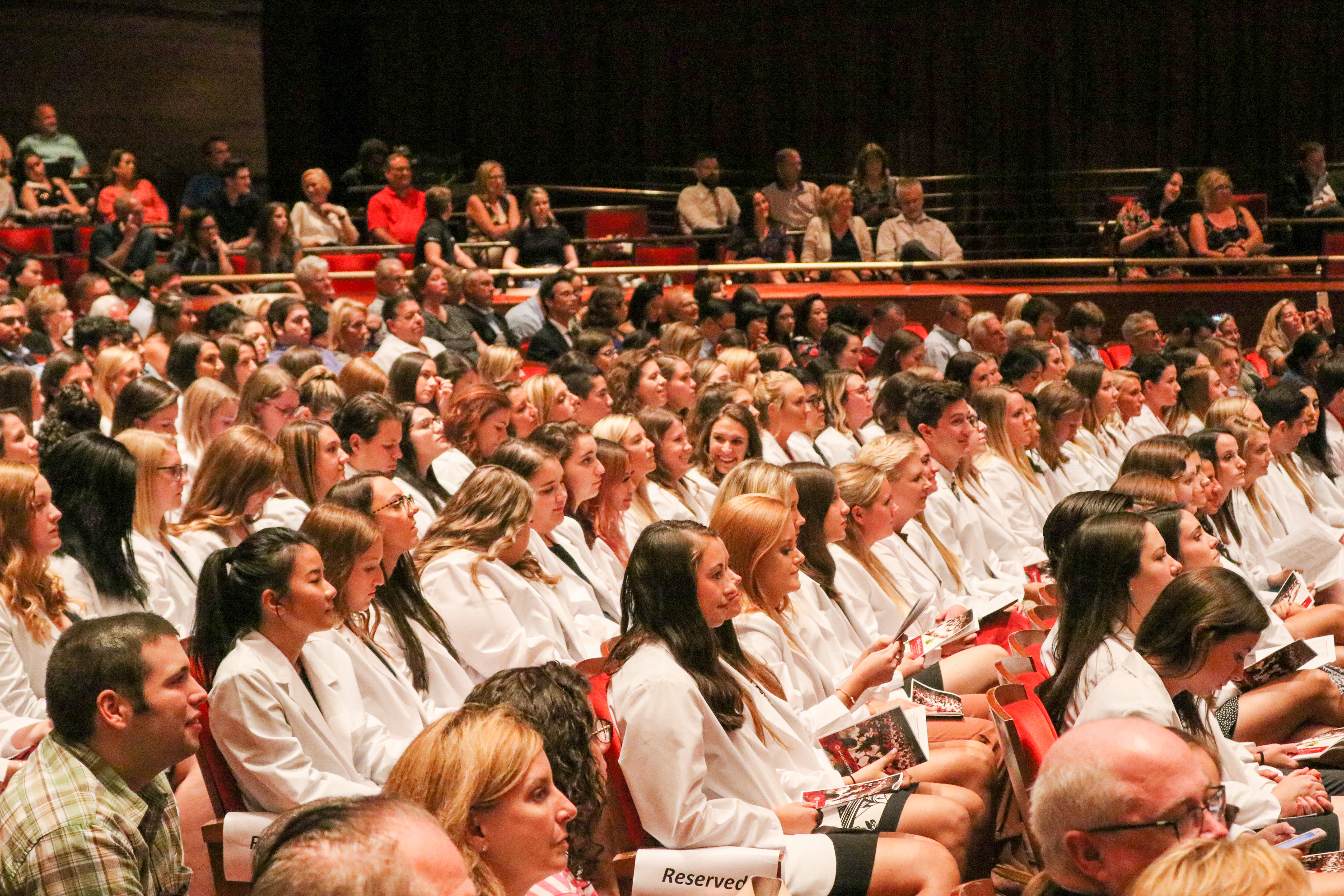 Students in White Coats
