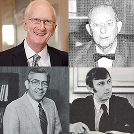 PCO Presidents; Lewis, Wolfberg, Wallis and Fitch