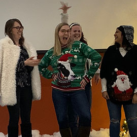Winterfest ugly sweater contest