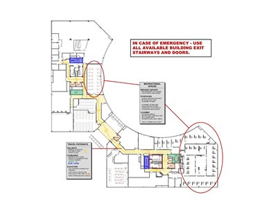 Elkins Park 2nd Floor Diagram