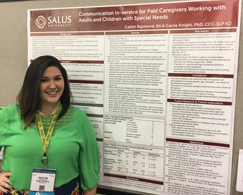 Q&A with Caitlin Raymond, Member and President of Salus' Inaugural SLP Class of 2017